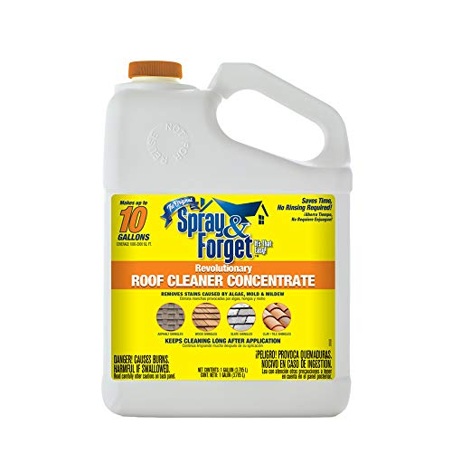 Spray & Forget SFRCG01 G01 Roof Cleaner, White