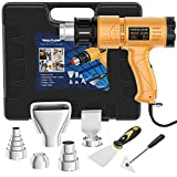 Heat Gun, SEEKONE 1800W Heat Gun Kit With Carry Case,...
