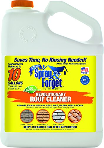 Spray & Forget Revolutionary Roof Cleaner Concentrate,...
