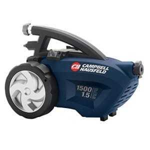 Campbell Hausfeld Electric Pressure Washer, 1500 psi Review