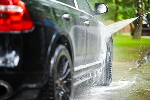 Vehicles Pressure Washing