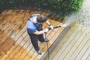 Wooden Decks Pressure Washing
