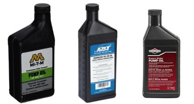 pressure washer pump oil equivalent