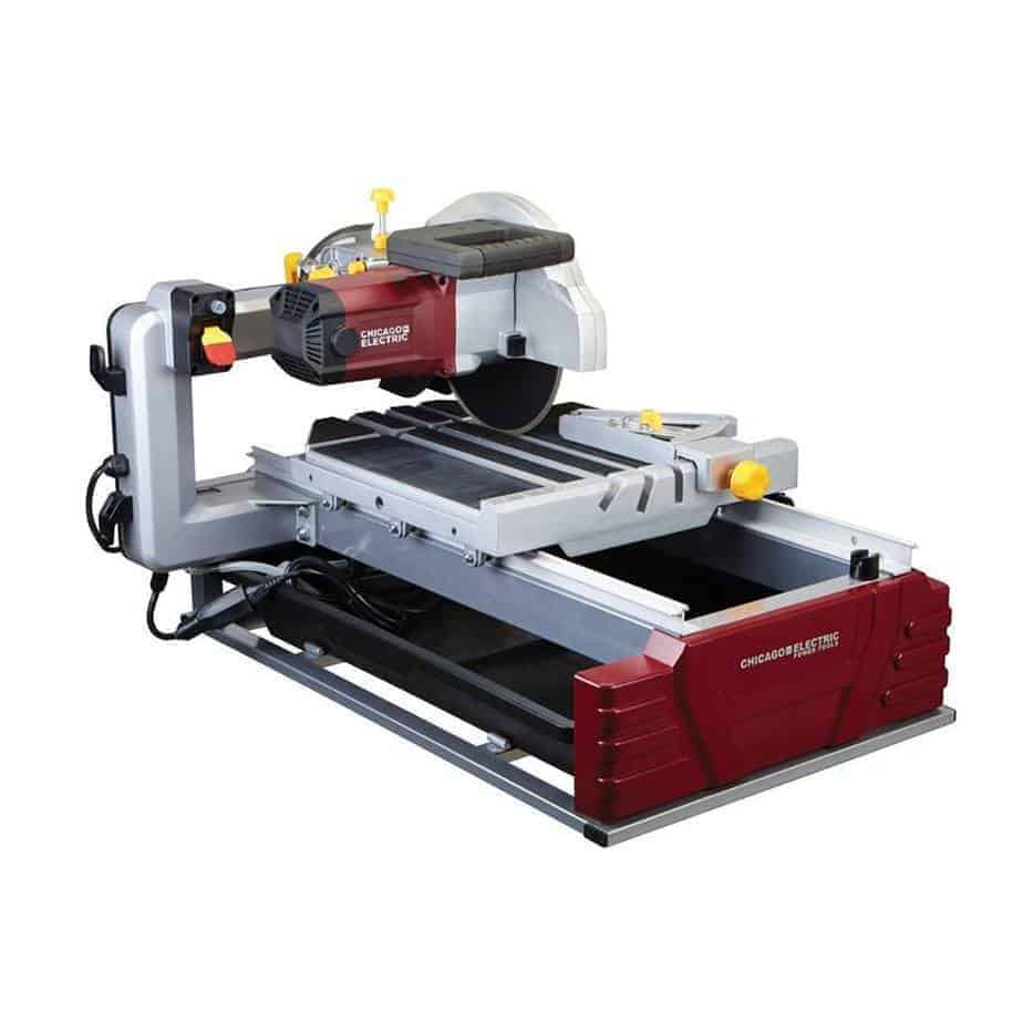 "2.5 Horsepower 10"" Industrial TileBrick Saw"