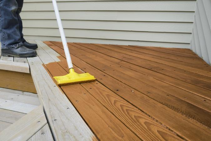 deck stain cleaner