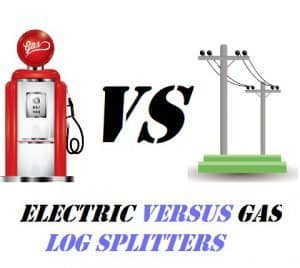 Electric or Gas Log Splitters