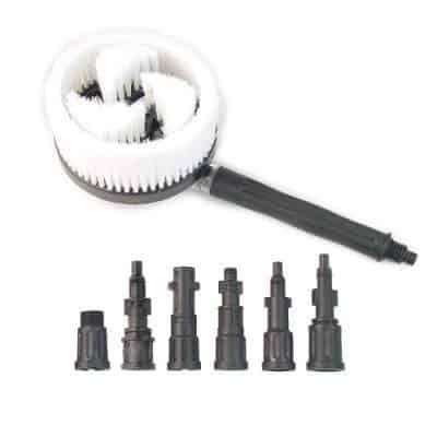 Powerwasher 80000 Universal Pressure Washer Rotary Brush Accessory Kit
