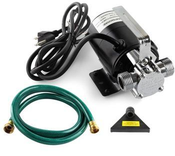 on demand hot water recirculation pump
