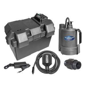 Superior Pump 92900 12-Volt Battery Backup Submersible Sump Pump