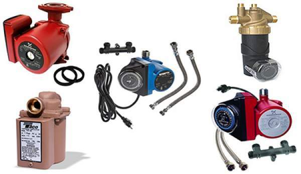 Hot Water Recirculating Pumps