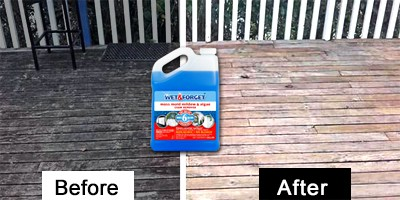 wet and forget deck cleaner
