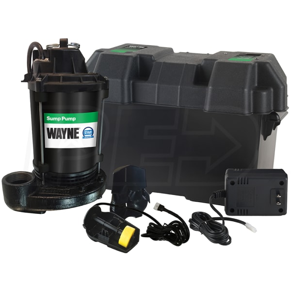 Battery Operated Sump Pump
