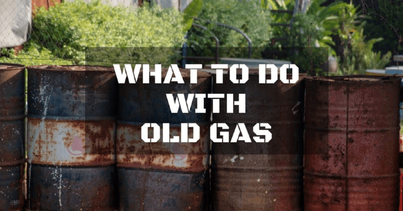 Gas Additive For Old Gas
