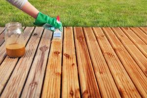 stain for decking
