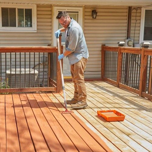 Best Rated Semi Transparent Deck Stain