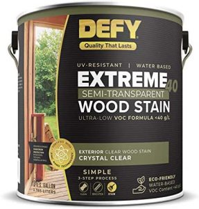 defy wood stain colors
