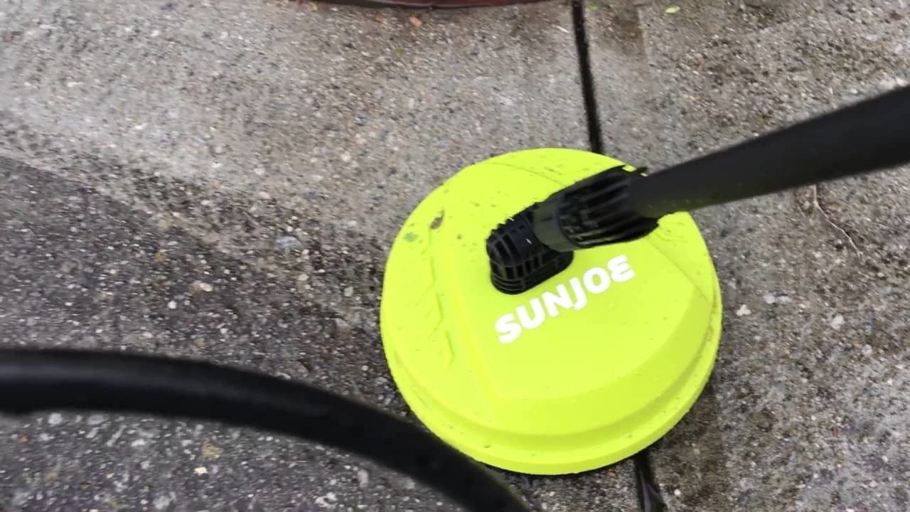 water powered rotary brush