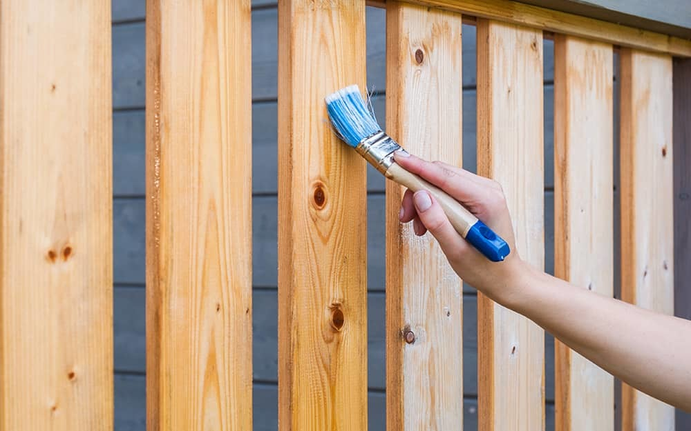 best way to apply deck stain