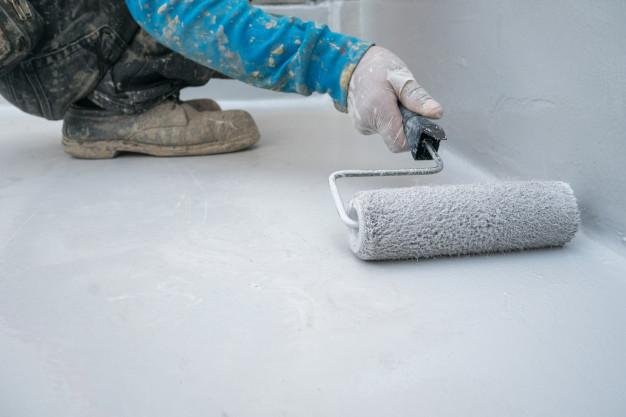 concrete stain versus paint