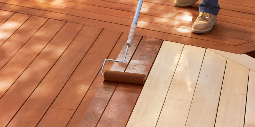 oil deck stain