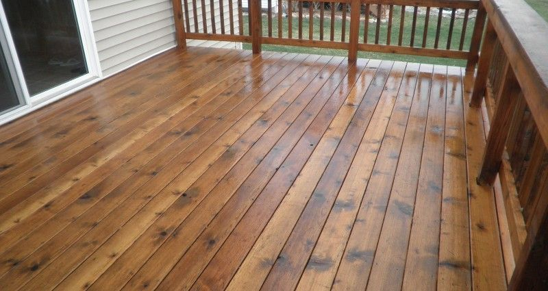 staining new pressure treated wood