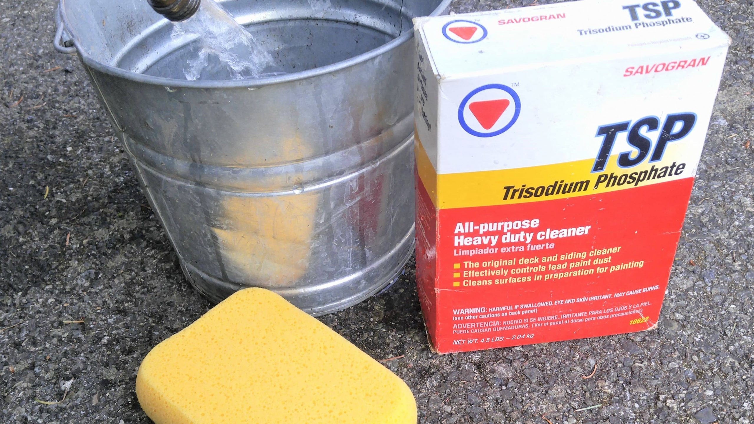 Cleaning Oil Stains From Concrete