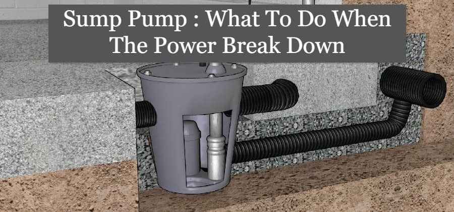 sump pump stopped working