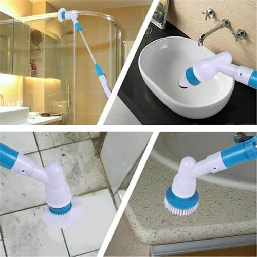hurricane spin scrubber charger