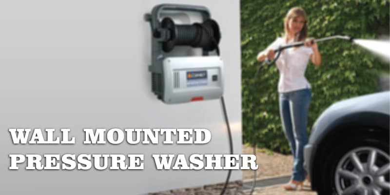 wall mounted pressure washer