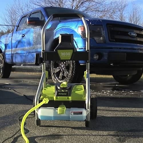 pressure washer for small spaces
